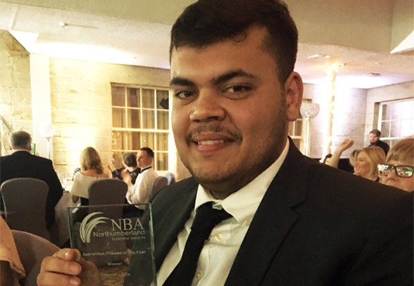 Congratulations Connor – Apprentice of the Year!