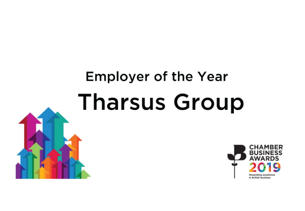 Tharsus Group named Employer of the Year at Chamber Business Awards 2019