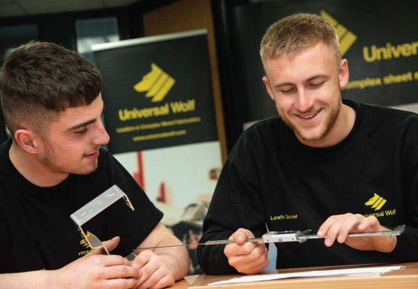 Lewis' Apprenticeship Journey: from classroom to CNC